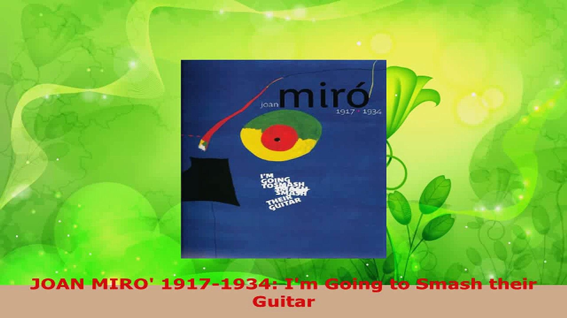Joan Miro 1917-1934