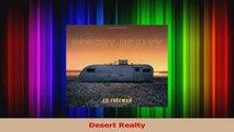 PDF Download  Desert Realty PDF Online