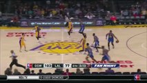 Metta World Peace Misses Easy Layup, Warriors Bench Reacts  Warriors vs Lakers  Jan 5, 2016  NBA