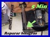 REPARAR BISAGRAS DE UNA LAPTOP PARA SIEMPRE EN 5 MINUTOS -HINGES REPAIR OF A LAPTOP FOREVER IN 5 MINUTES