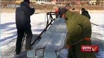 Lac Kunming : patinoires et sculptures sur glace dans le nord de la Chine