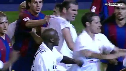 watch Zidane vs Enrique: When the Real Madrid and Barcelona legends clashed