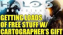 HALO 5 | CARTOGRAPHERS GIFT SNEAK PEEK | NEW REQs, UPDATES (Halo 5 Guardians)