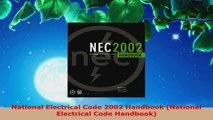 Download  National Electrical Code 2002 Handbook National Electrical Code Handbook PDF Free