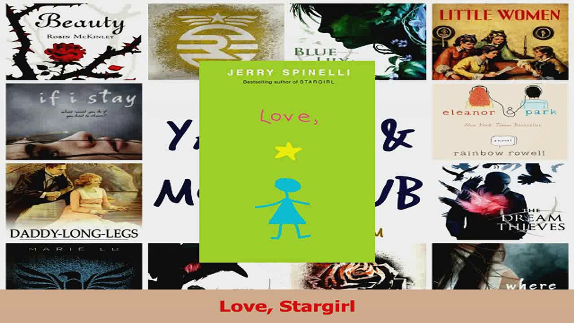 PDF Download  Love Stargirl Read Full Ebook