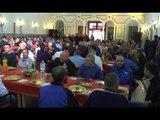 Napoli - Pranzo al carcere di Poggioreale della Comunità S.Egidio (22.12.15)