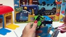 Tayo the Little Bus Wheels On The Bus 타요 꼬마버 스 타요 미니친구들 자동차 장난감 des dessins animés à écrire des Jouets