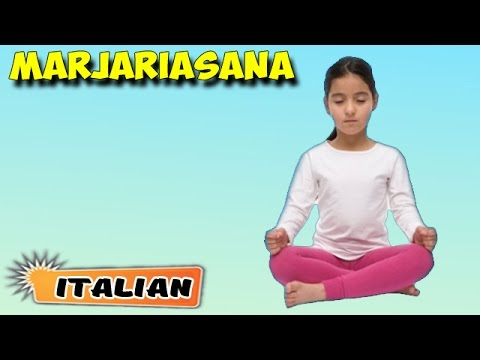 Yoga per bambini Memoria | Yoga for Kids Memory | Meditation Asana | About Yoga in Italian