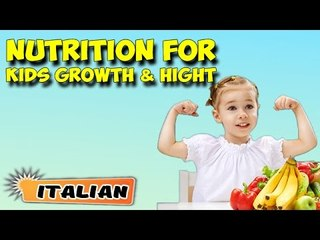 Nutritional Management For Kids Growth & Height | About Yoga in Italian