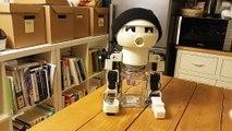 Drinky, le premier robot qui boit de l'alcool avec vous