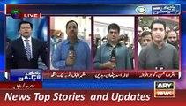 ARY News Headlines 19 November 2015, Updates of Local Body Election Punjab & Sindh