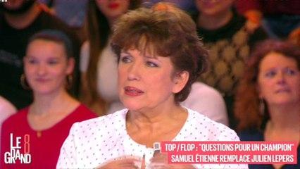 Questions pour un champion : Roselyne Bachelot tacle l'arrivée de Samuel Etienne