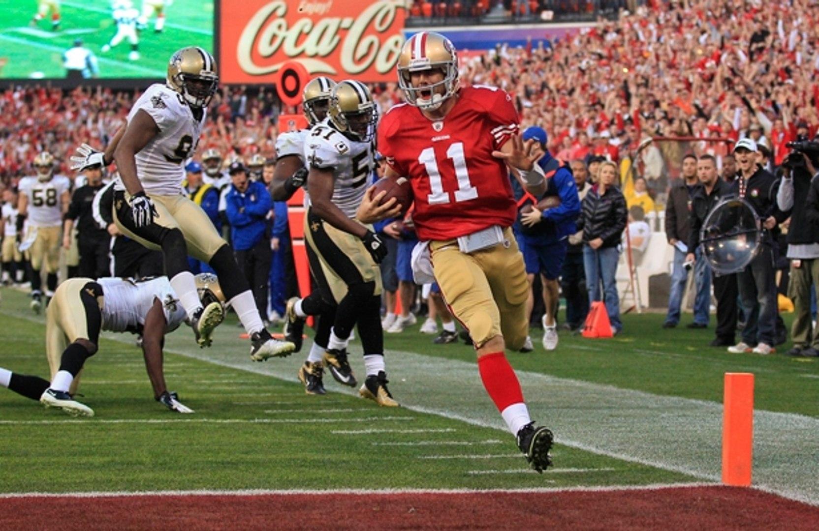 Alex Smith Amazing Performance vs Saints (NFL Playoffs 2011-12) - NFL Highlights HD