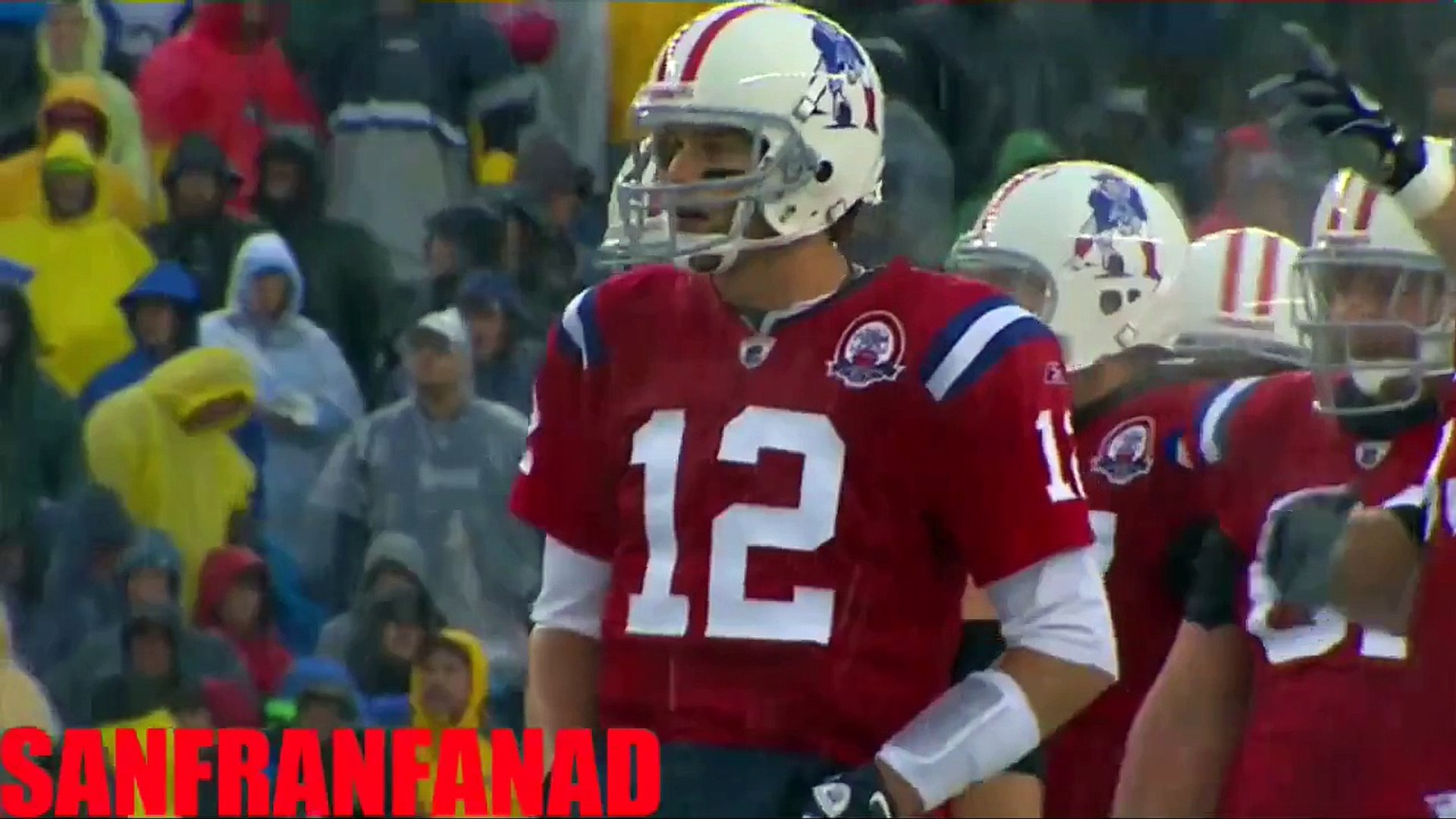 Tom Brady sets NFL record with 5 TD passes in ONE QUARTER v Titans (Week 6 - 2009) - NFL Highlights