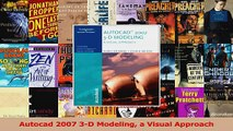 PDF Download  Autocad 2007 3D Modeling a Visual Approach PDF Online