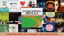 PDF Download  Coaching Skills for Managers and Supervisors Download Full Ebook