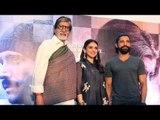 Wazir Movie Promotions   Amitabh Bachchan, Farhan Akhtar, Aditi Rao Hydari