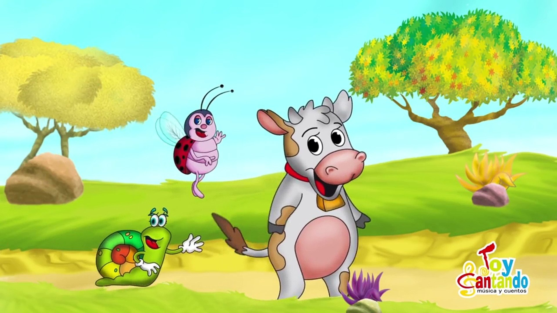 La Vaca Lechera Canción Infantil Dailymotion Video