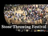 Bizarre Festival - Mass Gathering For Stone Throwing Festival in India