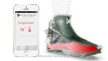 La Digitsole Smartshoe, la chaussure intelligente à laçage automatique