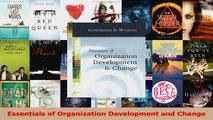 PDF Download  Essentials of Organization Development and Change Read Full Ebook