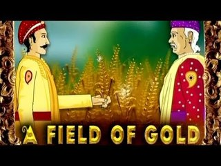 Akbar and Birbal - Field Of Gold - Tamil Animated Stories For Kids