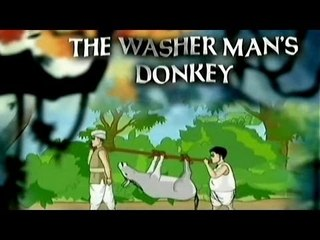 Tales of Panchatantra - The Washer Man's Donkey - Tamil Animated Stories For Kids