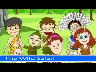 The Wild Safari - Fun And Learn Series in English