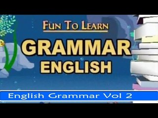 English Grammar Vol 2 - Fun And Learn Series in English