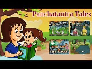 Tales of Panchatantra in English | Animated Moral Stories For Kids | Part 1