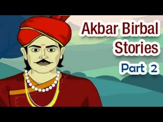 Akbar Birbal Tales in English | Animated Kids Moral Stories - Part 2
