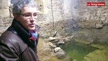 Vannes. Chantier de fouilles  Place des Lices