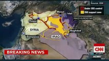 US Airstrikes ISIS Syria Raqqa ISIS US launches 1st airstrikes at Islamic State targets in Syria