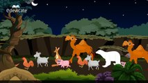 Edewcate english rhymes The animals went in two by two nursery rhyme