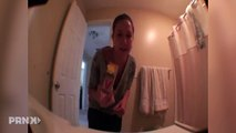 Guy Pees Himself From Mouse Trap light Switch Prank | Peeing Pranks