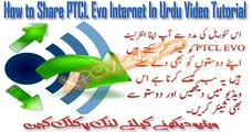 How to Share PTCL Evo Connetion In Urdu Tutoorial By XPCMASTI