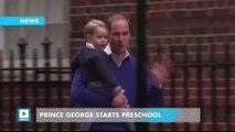 Prince George Starts Preschool