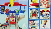 Paw Patrol Lookout Playset Ryders Rescue ATV with Chase, Ryder and Play Doh Toy