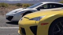 Bugatti Veyron vs Lamborghini Aventador vs Lexus LFA vs McLaren MP4-12C - Head 2 Head Episode 8 - Araba Tutkum