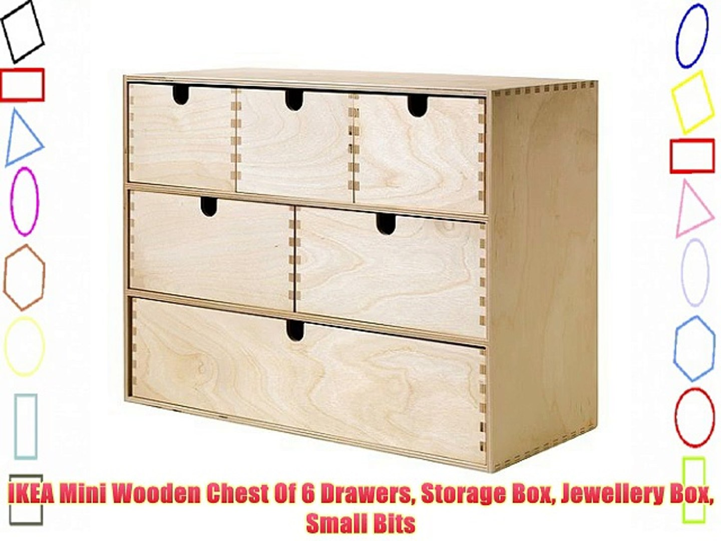 Drawers Storage Box Jewellery