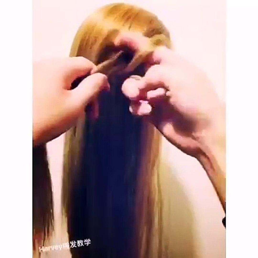EASY HAIR STYLE FOR LONG HAIR