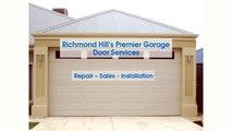 Richmond Hill - Garage Door Repair, Sales & Opener Installation Services