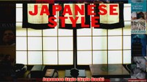 Japanese Style Style Book