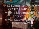 a2z Events Solutions,Best Weddings Specialists,Events Planners in Lahore, Pakistan
