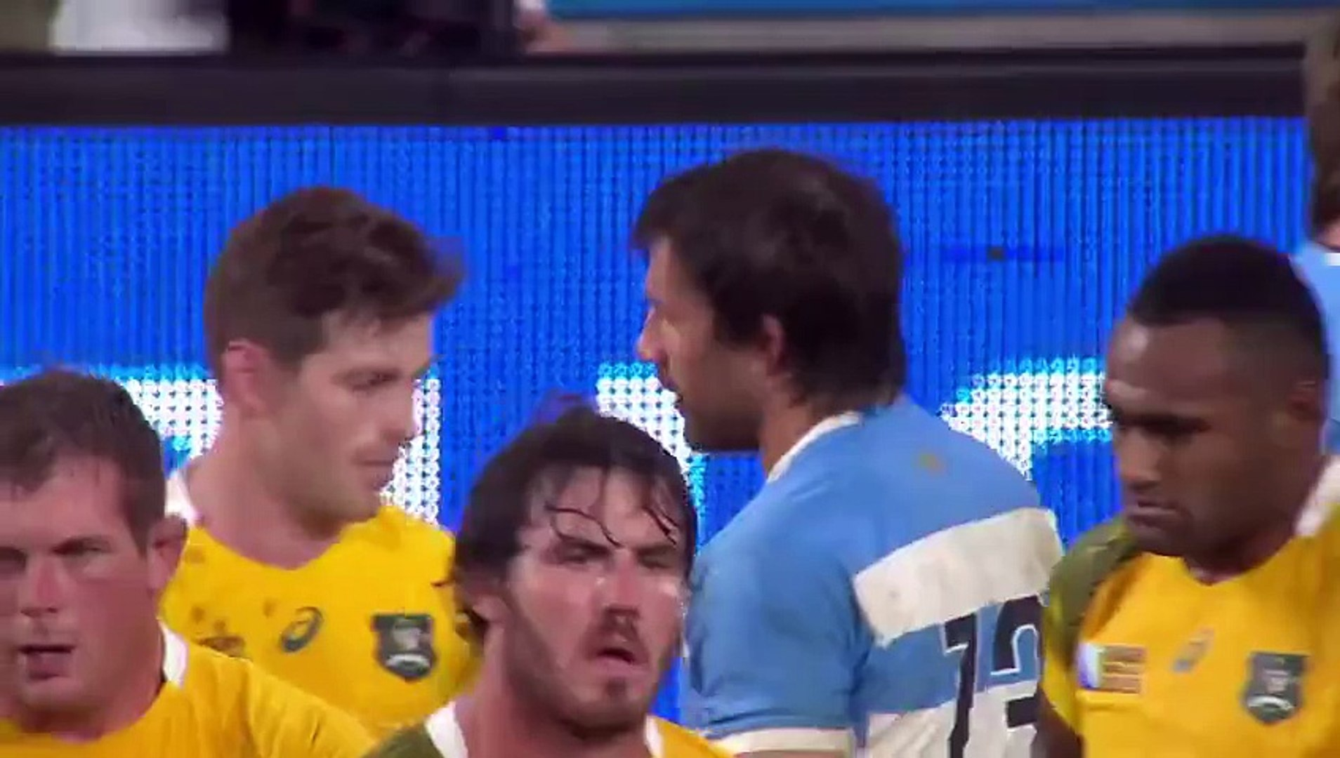 Argentina v Australia - Blood, sweat and tears
