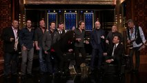 Billy Joel, J.K. Simmons and Jimmy give an unrehearsed and spontaneous  Doo-Wop with Billy Jo