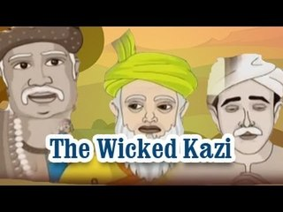 Akbar And Birbal | The Wicked Kazi | English Animated Stories For Kids