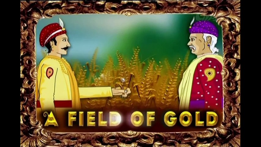 Akbar And Birbal - Field Of Gold - Animated Stories For Kids