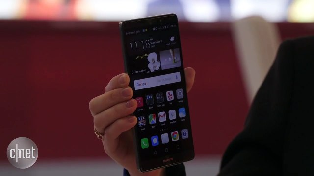 CES 2016 : Huawei Mate 8, grand par la taille et l'autonomie
