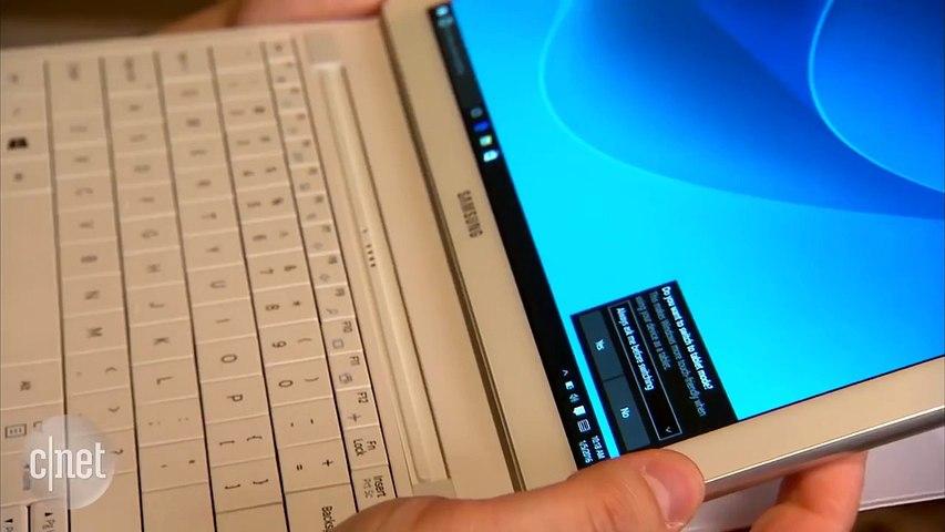 CES 2016 : Samsung Galaxy Tab Pro S, des airs d'iPad air sous windows